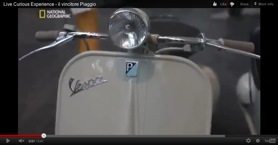 Vespa factory tour