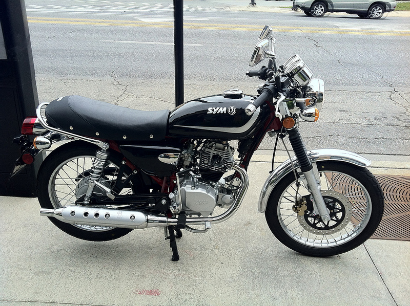 First ride: SYM Wolf Classic 150