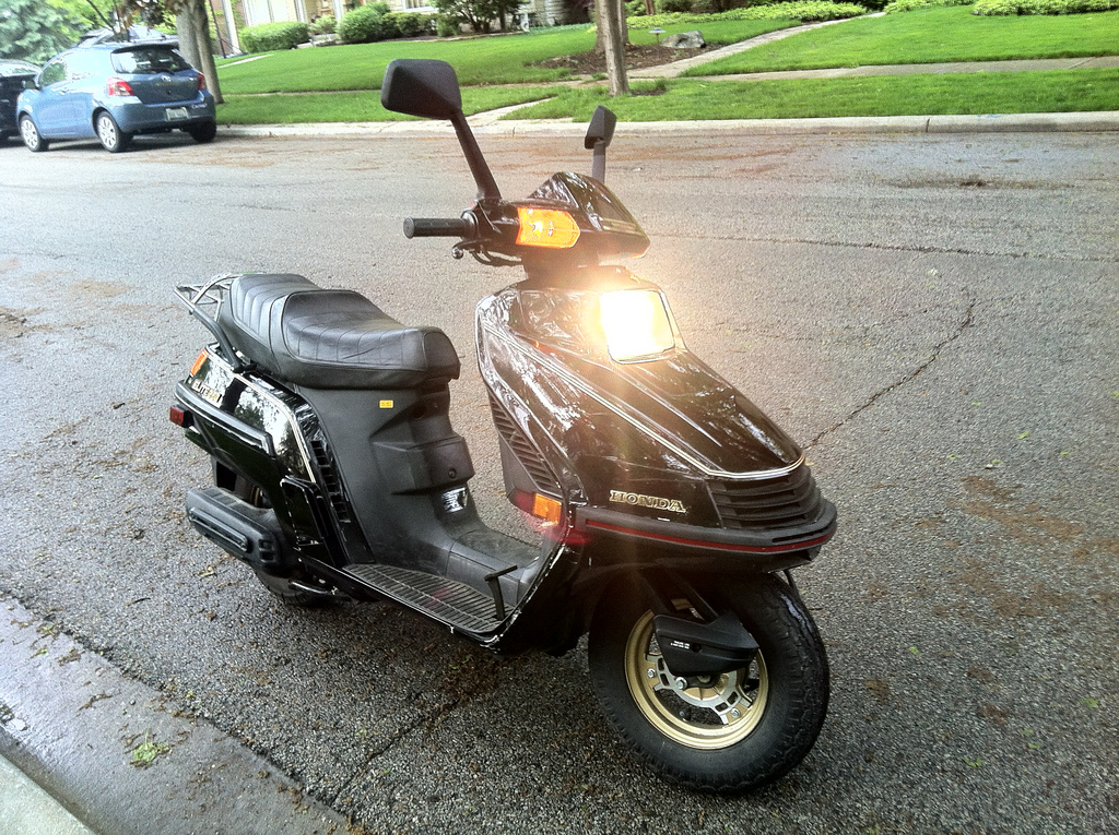 The official ScooterFile Elite 250