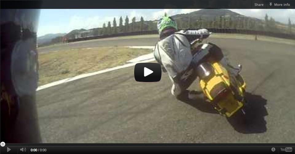 Video: Vintage Scooter Racing