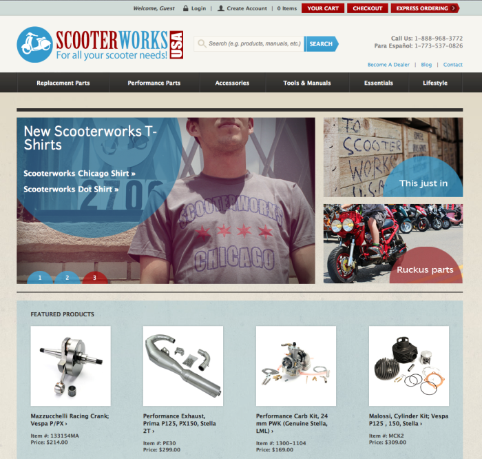 Scooterworks USA's New Look