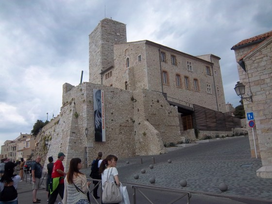 Once a princely fortress, now the shoreside Pablo Picasso Museum, in Antibes
