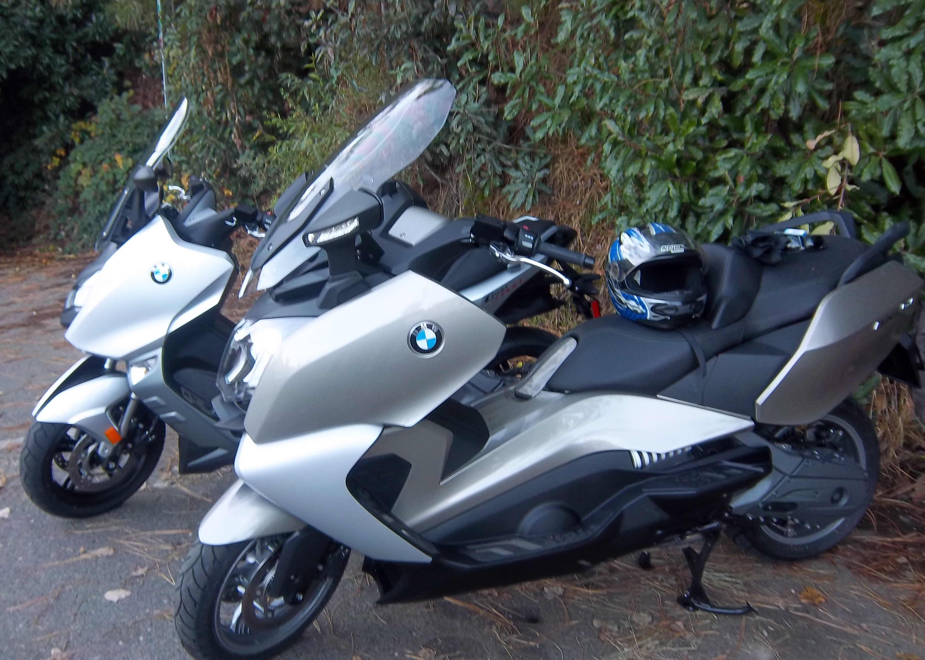 BMW C Scooters in the wild