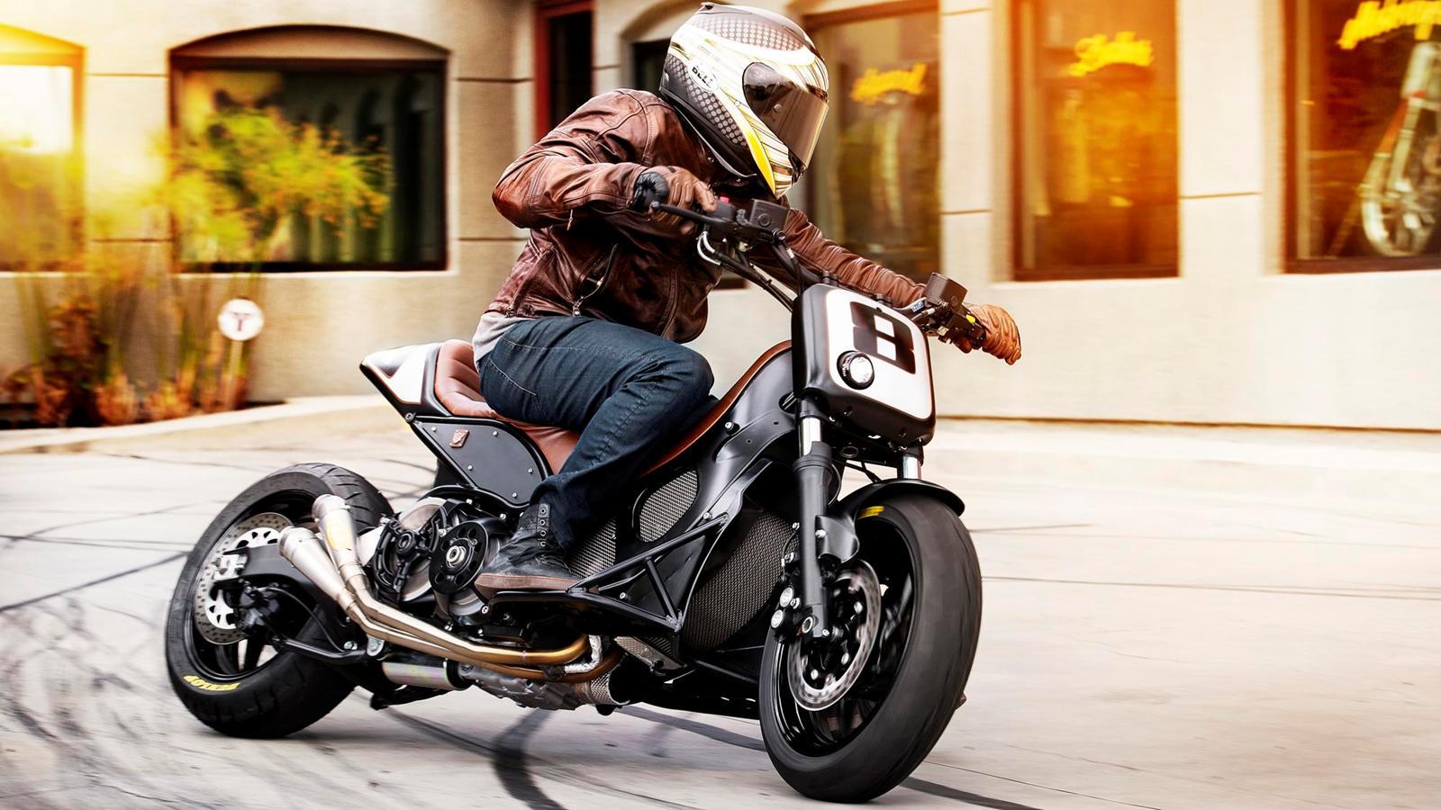 Roland Sands Bonkers Yamaha TMax