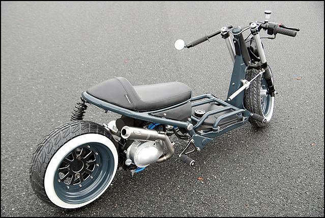 Cafe Risque Custom Honda Ruckus Scooterfile