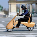 The Antro Moveo Folding Electric Scooter