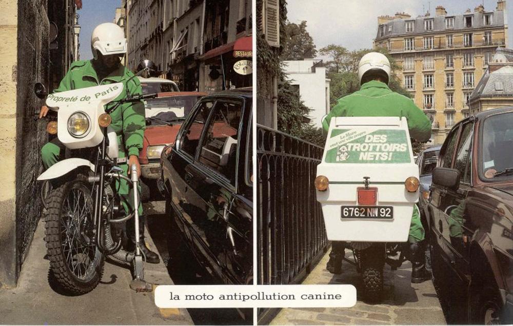 Paris Poop Scooter