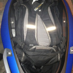"What can you fit in the C 600's smaller underseat storage? Flexcase down, I could fit my large 25L Osprey backpack containing a 17"" laptop, numerous drives, files, accessories and other junk I schlep to work every day."
