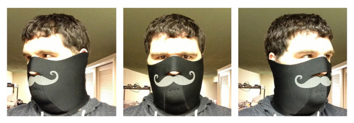 Prima Moustache Face Mask