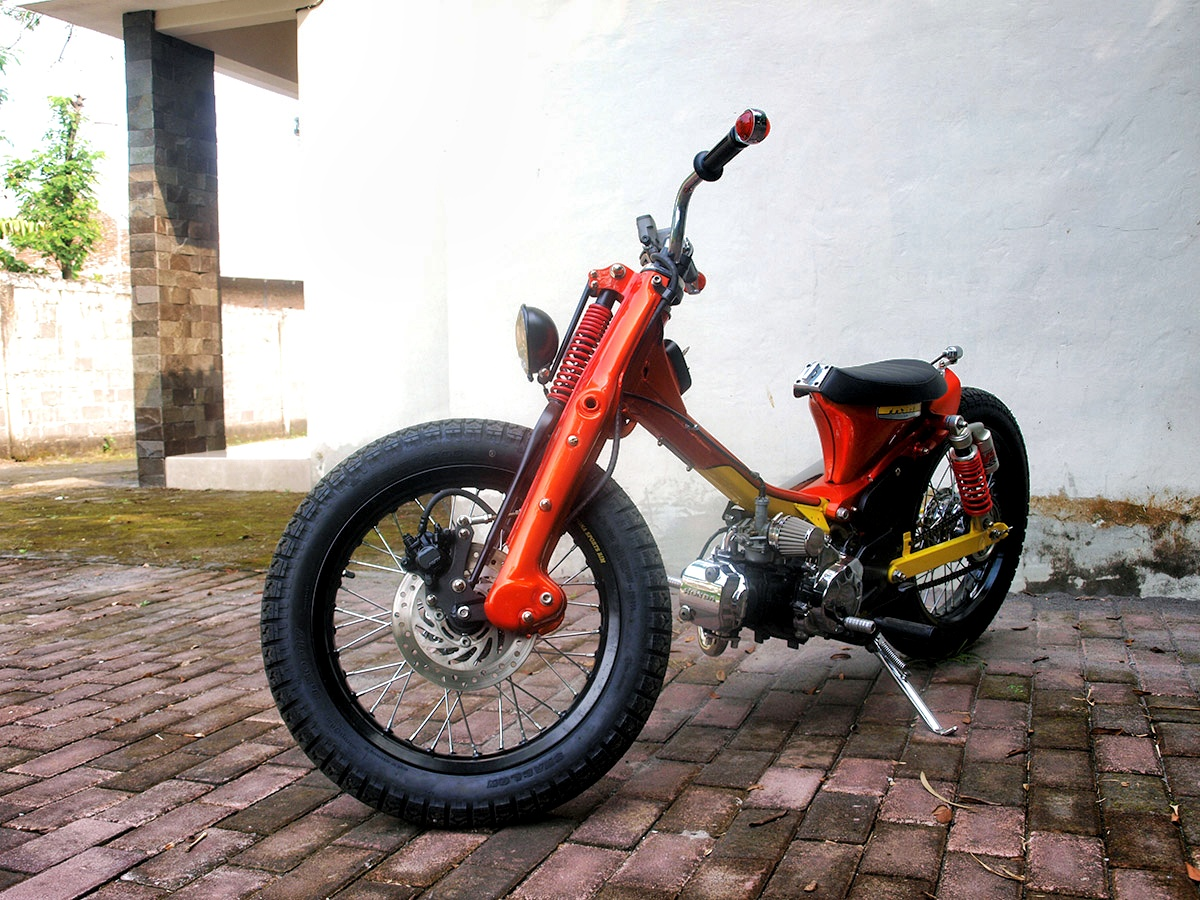 Attempt 17 Honda Cub From Daritz Design Scooterfile