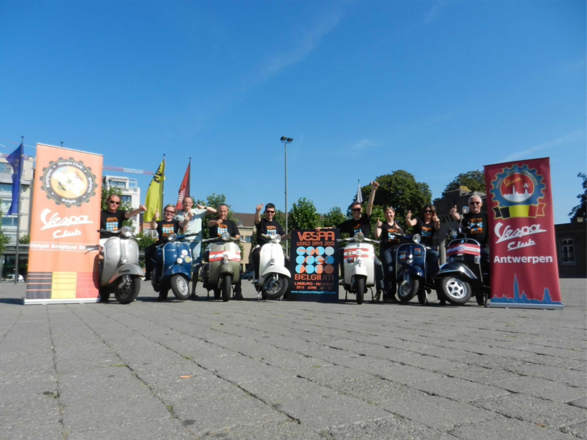 Vespa World Days 2013