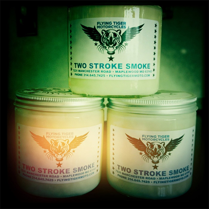 Two-Stroke-Smoke-Candle