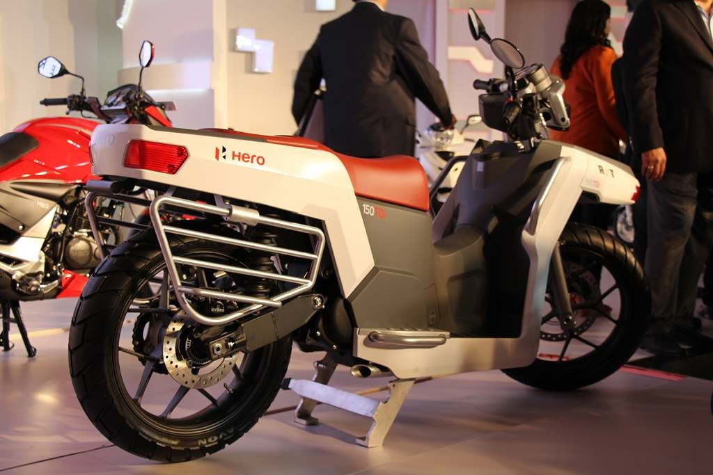 Hero RNT Diesel Hybrid Scooter