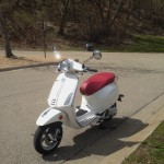 ScooterFile First Ride - 2014 Vespa Primavera 150 3Vie 5