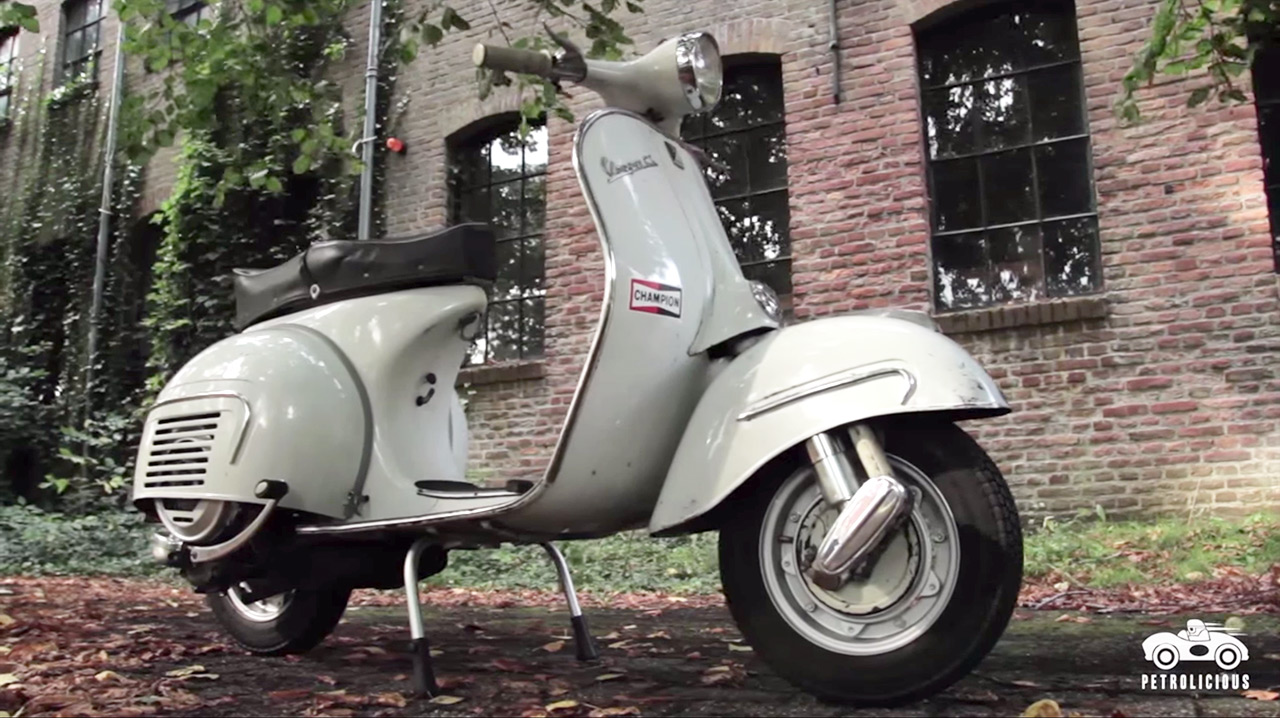 Video: One Vespa Leads To Another