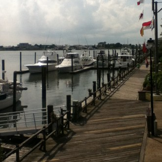 Beaufort's chill boardwalk